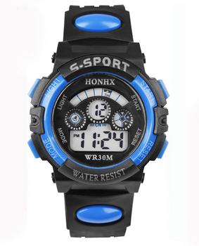 HONIX S Sport - Horloge - Kunststof - Zwart - 44 mm