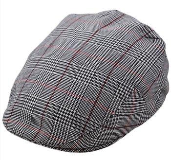 G&H Great Horse flatcap – originele check Flatcap – regular fit – geruit model