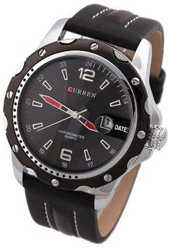 Curren klassiek heren horloge - 43 mm - zwart