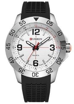 Curren heren horloge - analoog - 45 mm - zwart/wit