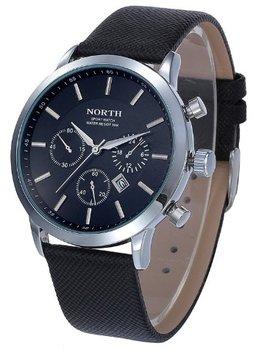 North - heren horloge - zwart - 45 mm