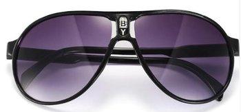 M.O.I - hippe kinder zonnebril piloot model in de kleur zwart