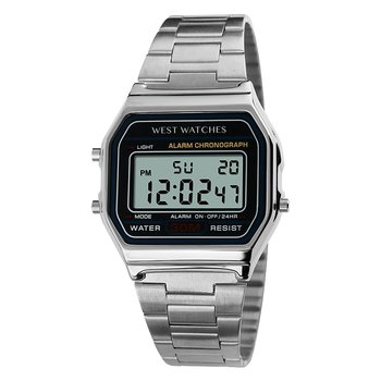 West Watch – digitaal horloge - model Cliff – zilver