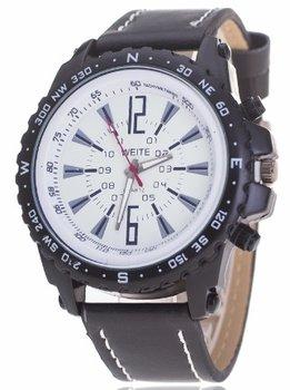Weite herenhorloge zwart 47 mm