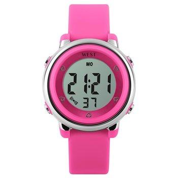 West Watch - digitaal kinder horloge – LED - model Star – roze
