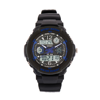 West Watch – multifunctioneel sport horloge - model Storm – blauw