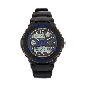 West Watch – multifunctioneel sport horloge - model Storm – blauw